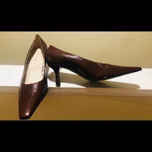 Etienne Aigner Hazel Brown Pumps Size 10